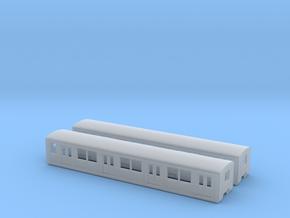 BR 877 Beiwagen N [2x body] in Smooth Fine Detail Plastic