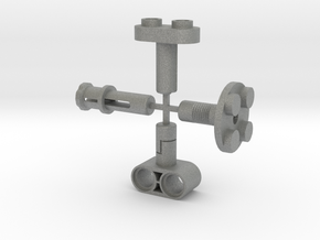 Toy Handles Sprue in Gray Professional Plastic