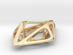 STRUCTURA Smooth, Pendant. in 14K Yellow Gold