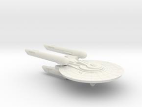 3125 Scale Federation New Heavy Cruiser (NCA) WEM in White Natural Versatile Plastic