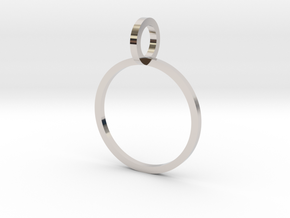Charm Ring 14.36mm in Platinum