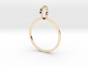 Charm Ring 16.51mm in 14K Yellow Gold
