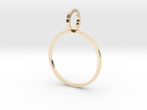 Charm Ring 18.53mm in 14K Yellow Gold