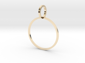Charm Ring 18.89mm in 14K Yellow Gold