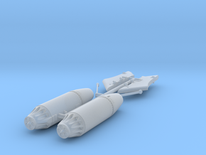 Mars 2 Rocket Pods and Pylons for LIM-6/Mig 17 in Smooth Fine Detail Plastic: 1:72