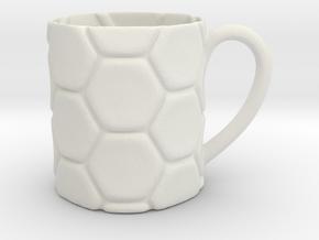 Decorative Mug (downloadable) in White Natural Versatile Plastic