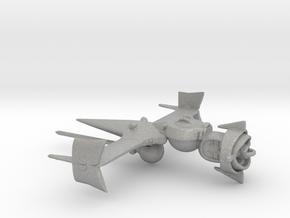 """Cowboy Bebop"" Swordfish II Ship  in Aluminum: Small"