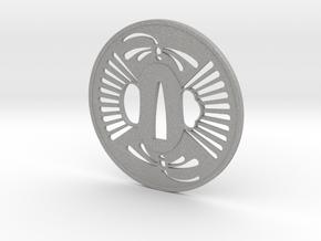 Tsuba tombo in Aluminum