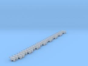 Set of 32 - NOS Bottles horizontal in Smoothest Fine Detail Plastic