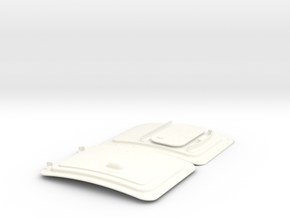 1.4 LAMA TRAPPES AVANT in White Processed Versatile Plastic