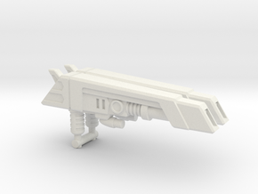 G2 Smokescreen Guns, 5mm in White Natural Versatile Plastic: Medium