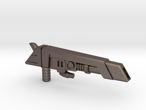 G2 Smokescreen Guns, 5mm in Polished Bronzed-Silver Steel: Small