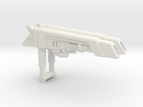 G2 Smokescreen Guns, 3mm in White Natural Versatile Plastic