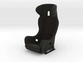 Race Seat A500 Type - 1/10 in Black Natural Versatile Plastic