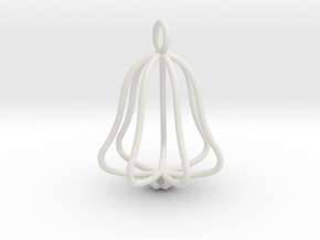 bell in White Natural Versatile Plastic