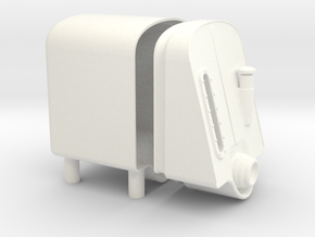 1.6 big oil tank ama in White Processed Versatile Plastic