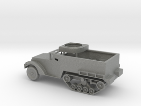 1/144 Scale M2 Halftrack w Tube in Gray PA12