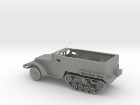 1/160 Scale M2A1 Halftrack in Gray PA12