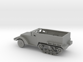 1/87 Scale M2A1 Halftrack in Gray Professional Plastic
