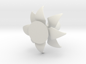 fantastic flower in White Natural Versatile Plastic