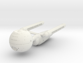 2500 Ent Daedalus class in White Natural Versatile Plastic
