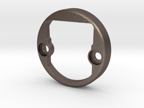 Ikea CABINET HINGE  RING in Polished Bronzed-Silver Steel