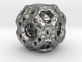 Qube.01 in Natural Silver