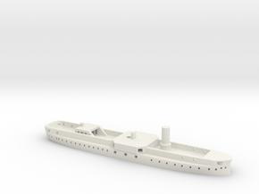 1/1250 Audacious-class (1869/1870) Gaming Models in White Natural Versatile Plastic