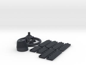 SC38 fitting Set I 1:5 in Black Professional Plastic