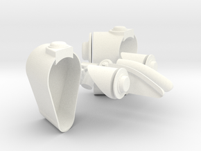 1.8 EC725 ELEMENTS BALLONNET in White Processed Versatile Plastic