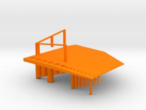 Fitment and Stress Test  in Orange Processed Versatile Plastic