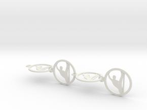 yoga (10) in White Natural Versatile Plastic