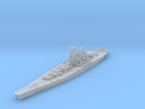 Yamato (1945) 1/1800 in Smooth Fine Detail Plastic