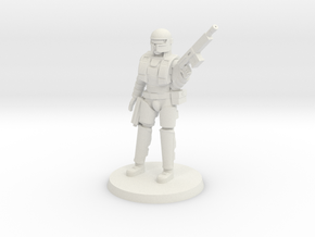 Kathy Heavy Armor (fixed version) in White Natural Versatile Plastic