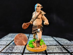 Hill Ogre in Smooth Fine Detail Plastic