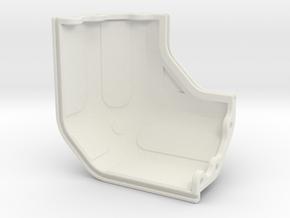 Modular Hardcase - Corner in White Natural Versatile Plastic