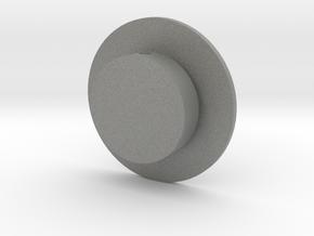 Quad FM-AM Tuning Knob in Gray Professional Plastic