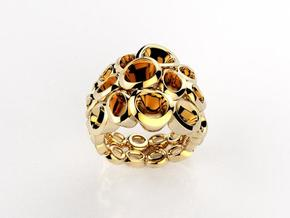 Molecular Ring (From $15 in 18k Gold Plated Brass: 6.25 / 52.125