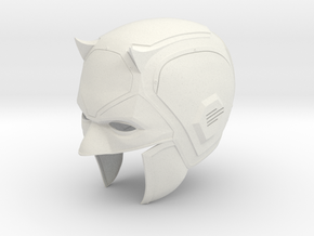 "Daredevil Season 1 1/6th helmet for 12"" figures in White Natural Versatile Plastic"