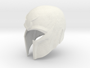 Magneto X-men DOFP helmet 1/6 th scale  in White Natural Versatile Plastic