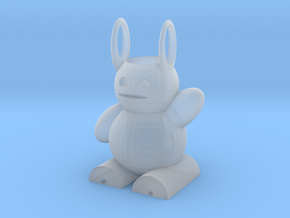 Rabbit Bag in Smooth Fine Detail Plastic