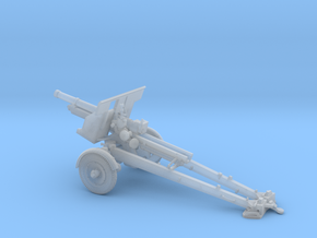 1/72 IJA Type 91 105mm Howitzer towed (motorized) in Smooth Fine Detail Plastic