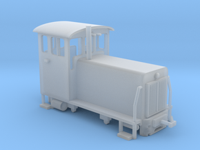 WHHR Ruston Diesel locomotive NO.1 Glaslyn in Smooth Fine Detail Plastic
