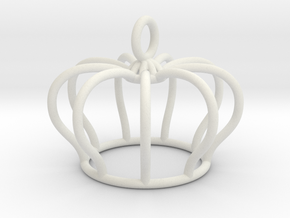 crown in White Natural Versatile Plastic