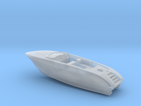 "1/87 RIVA ""Rivamare"" Luxury Yacht - PART 1 in Smooth Fine Detail Plastic"
