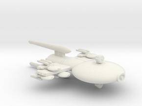 3125 Scale Gorn Carnosaurus-P Gunboat/PF Tender SR in White Natural Versatile Plastic