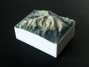 Mt. Elbert, Colorado, USA, 1:100000 Explorer in Full Color Sandstone