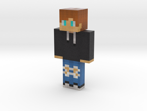 MathisRadio | Minecraft toy in Natural Full Color Sandstone