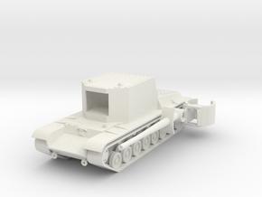 1/100 SU-100Y in White Natural Versatile Plastic
