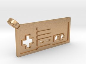 NES Controller Styled Pendant in Natural Bronze